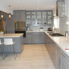 Kitchen Cabinet Manufacturers Canada 10x10 Designs Ikea Bodbyn Grey - Traditional Toronto ...