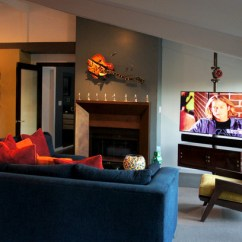 Living Room Ideas With Tv And Fireplace Sofa For Small India Robots, Rock Roll - Modern Los Angeles ...