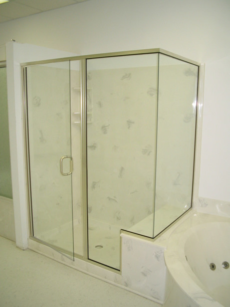 Custom shower doors  Frameless vs semiframeless  Worth the cost