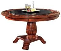 Steve Silver Company Tournament Black Top Poker Game Table ...