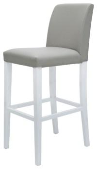 Canini Bar-stool Grey & White