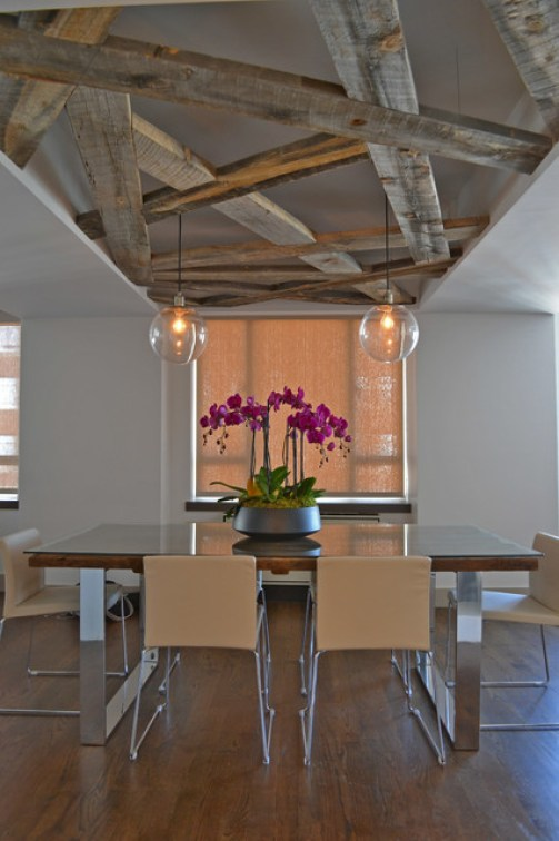 Madison Ave. apartment combo contemporary-dining-room
