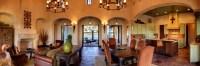Spanish Hacienda - Mediterranean - Living Room - austin ...