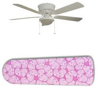 "High Style Barbie on Pink 52"" Ceiling Fan and Lamp ..."