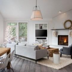 Window Treatment Ideas For Large Living Room Interior Design Photo Gallery Malaysia Scandinavian Farmhouse - Family ...