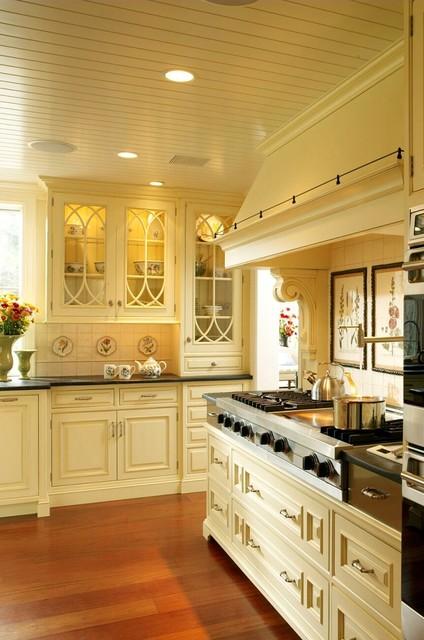 wayne, pa rustic-kitchen