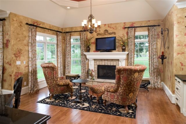 living room design ideas tv over fireplace italian furniture toronto hearth