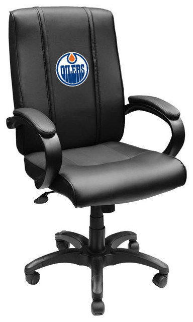 desk chair edmonton parsons covers sale oilers nhl office 1000 contemporary chairs by dreamseats llc