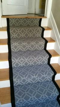 Custom Stair Runners - Transitional - Staircase - denver ...