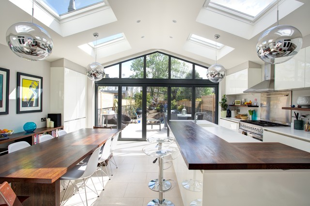 Rear Extension and Velux, SW13