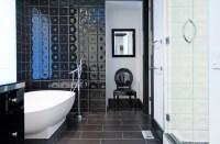 Minimal Modern Black and White Bathroom Remodel ...