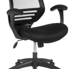 Chair Design Back Angle Ergonomic Auckland Mid Black Mesh Executive Swivel With Adjustment Contemporary Office Chairs By Pot Racks Plus