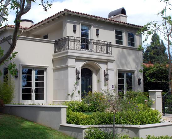 Mediterranean Home Design Mediterranean Exterior Los Angeles