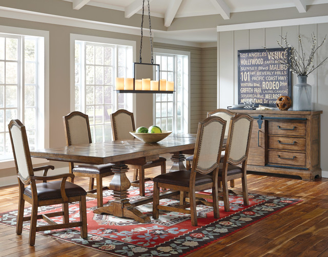 We've done the shopping for you this year. American Attitude Dining Set - Farmhouse - Dining Room ...