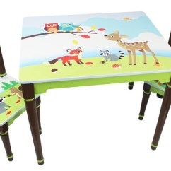Toddler Table Chairs Chair Innovative Design Enchanted Woodland Set Contemporary Kids Tables And By Fantasy Fields Teamson
