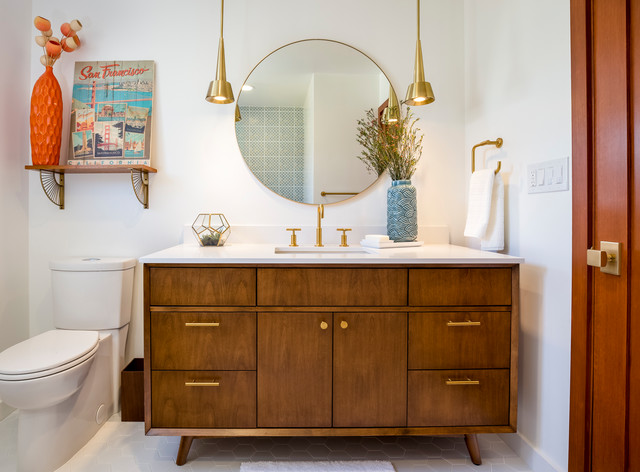 Mid-Century Bathroom in El Segundo, CA. midcentury-bathroom
