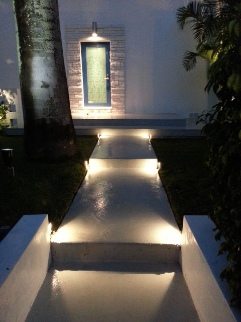 led modern profile accent