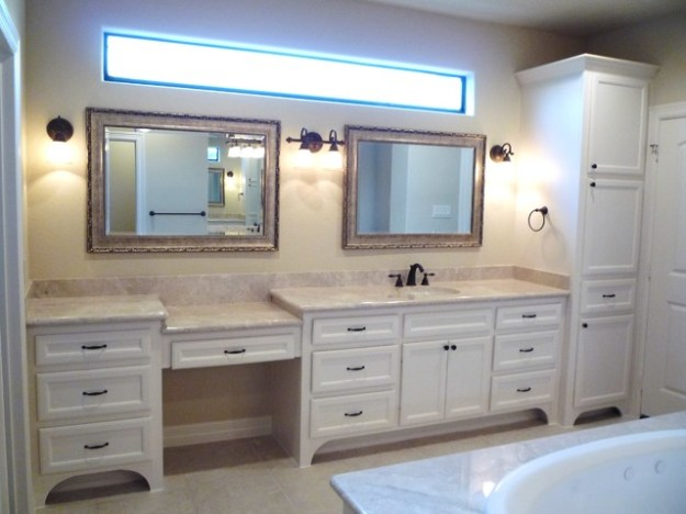 custom bathroom cabinets & vanities - traditional - bathroom