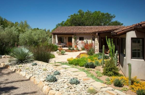 california spanish ranch home