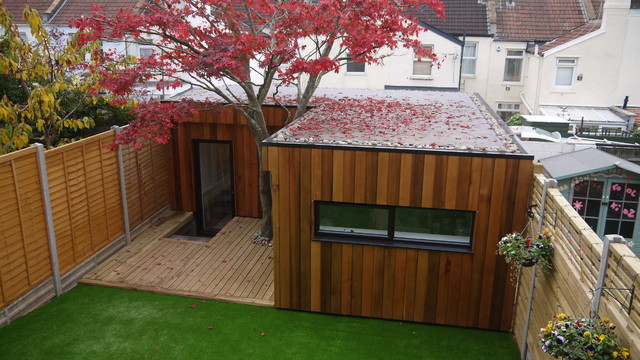 Garden Office Contemporary Garden Shed And Building Other