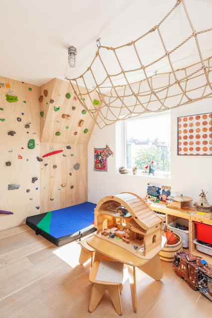 Brooklyn, NY: Cobble Hill Townhouse contemporary-kids