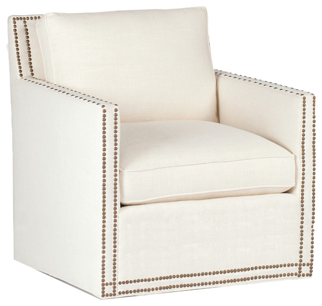 swivel chaise lounge chair diy roman gabby carter track arm transitional indoor chairs by