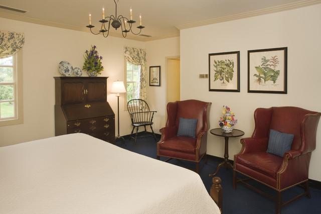 Ewing House Colonial Williamsburg  Farmhouse  Bedroom
