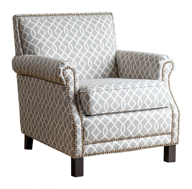 accent chairs gray pattern tripp trapp chair farrah club transitional armchairs and by abbyson living