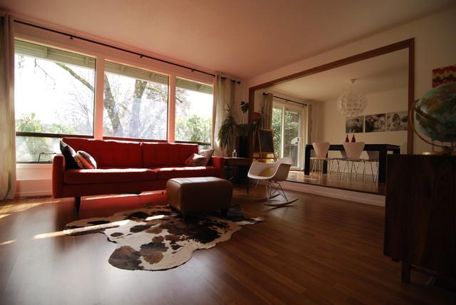 Midcentury modern living room  Modern  Living Room
