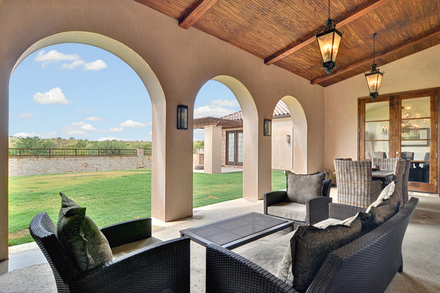 Spanish Colonial Modern Patio Dallas By Braswell
