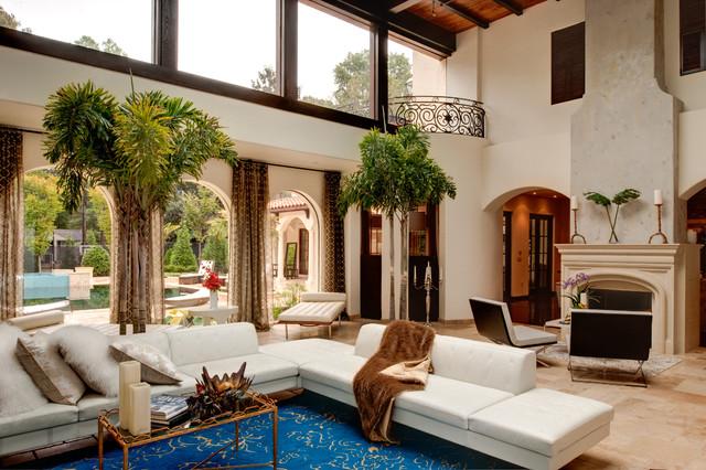 Atlanta Ga Mediterranean Living Room By Tamara