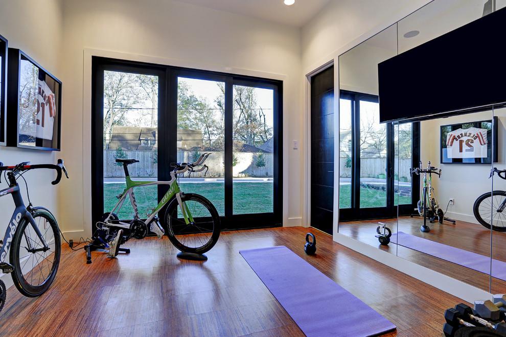 Modern Design - Modern - Home Gym - Houston - by Stone ...