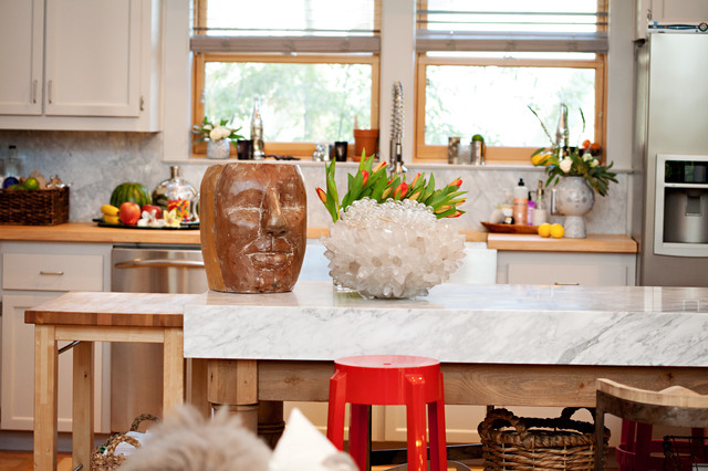 Southern Charm Eclectic Kitchen Dallas Abbe Fenimore Studio