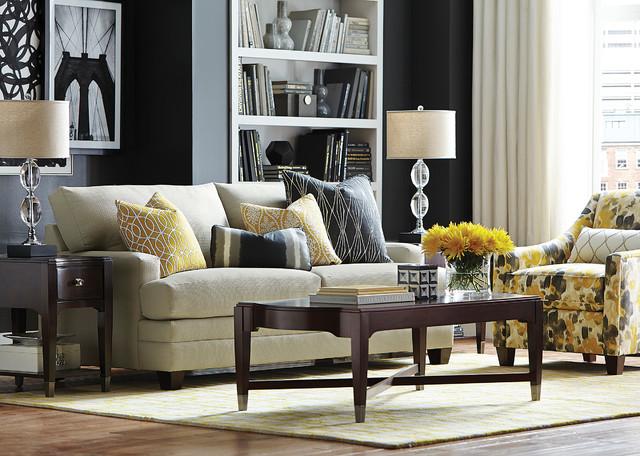 HGTV HOME Design Studio CU 2 Custom Sofa By Bassett Furniture