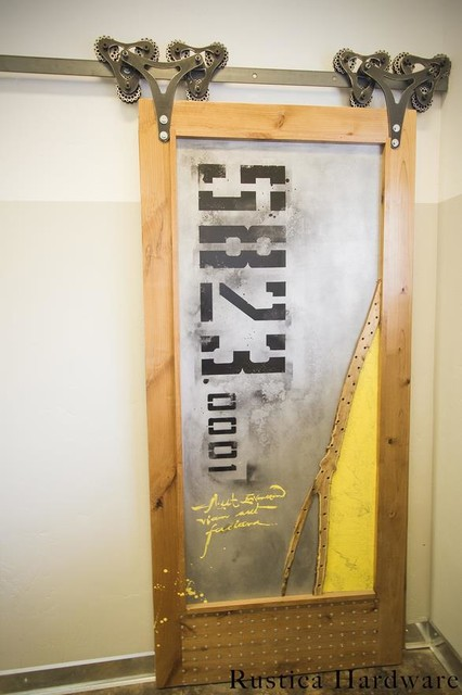 Sub Forest Barn Door Industrial Home Gym Salt Lake