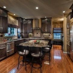 Kitchen Breakfast Bar Stools Redesigning A Traditional Kitchens - Louisville ...