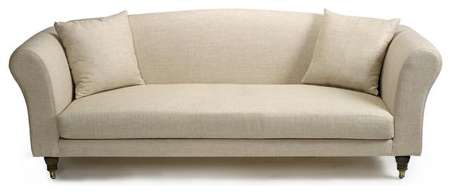 Single Cushion Leather Sofa Goodca