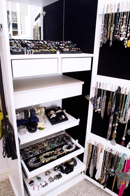 Luxurious Walk In Closet  Traditional  Closet