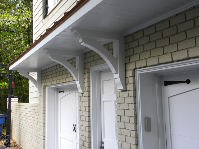 Buckhead Garage Eyebrow And Shutters Traditional Exterior Atlanta By Hall Design Build Houzz Au
