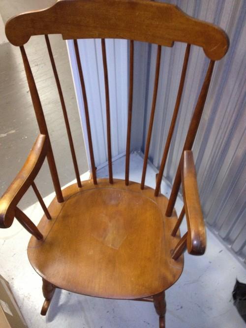 antique rocking chair identification patio cushion replacements help identifying nichols & stone rocker