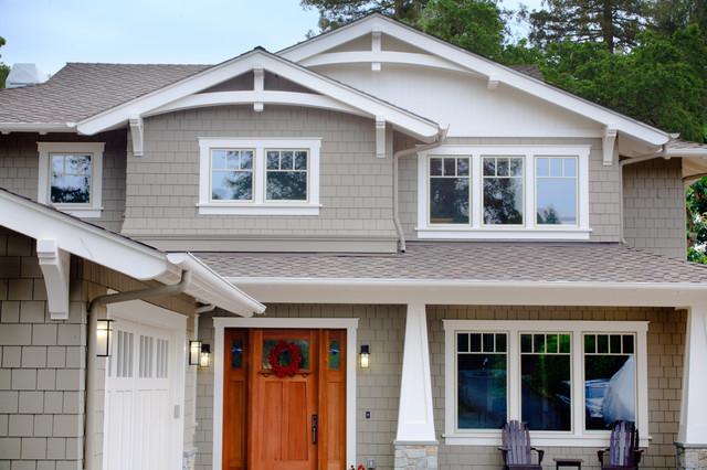 craftsman style new home craftsman exterior