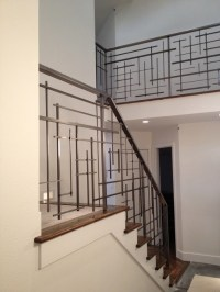 Custom Railing - Contemporary - Staircase - Seattle - by ...