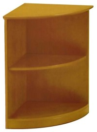 Small Corner Bookcase - Contemporary - Bookcases - by ...