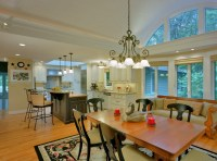 Barrel Vaulted Ceiling and renovated kitchen - Traditional ...