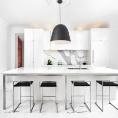 Kitchen Pendents Copper Sink 10 Styles Of Pendant Lights And How To Choose The Right One For Your This Industrial In Mill Valley California Is Located A Former Library That Retains Its Original Brick Walls Four Oversized Black Drum Pendants