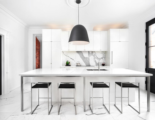 kitchen pendants small wood table 10 styles of pendant lights and how to choose the right one for your this industrial in mill valley california is located a former library that retains its original brick walls four oversized black drum