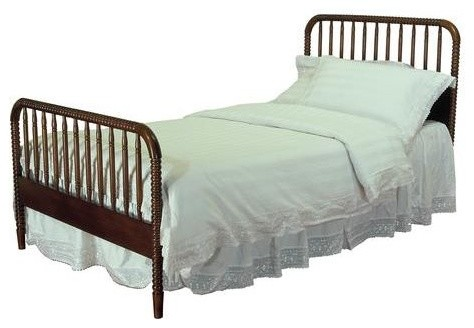 Jenny Lind Twin Bed Head Footboard Traditional Kids