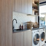 75 Beautiful Laundry Room With Medium Tone Wood Cabinets Pictures Ideas December 2020 Houzz
