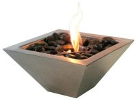 Empire Ventless & See Through Bio Ethanol Fireplace ...