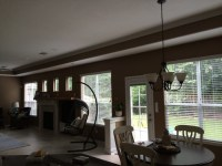 Should I have matching drapes for the kitchen and living room?